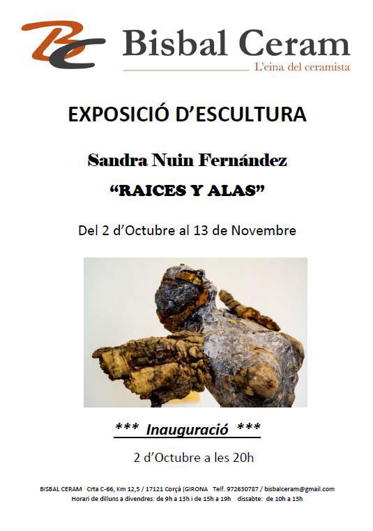 Escultura cerámica de Sandra Nin