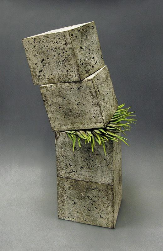 Pieza de cerámica de Alberto Bustos, ganadora del premio del Magrama