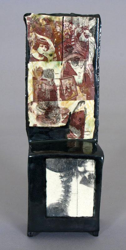 Pieza de cerámica de Catherine Schmid Maybach