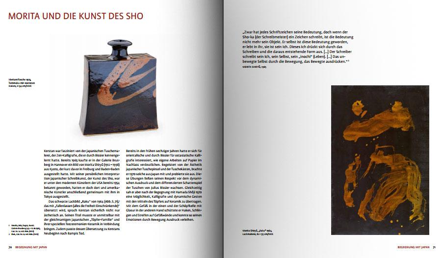 Páginas interiores del libro -Horst Kerstan. Keramik der Moderne-