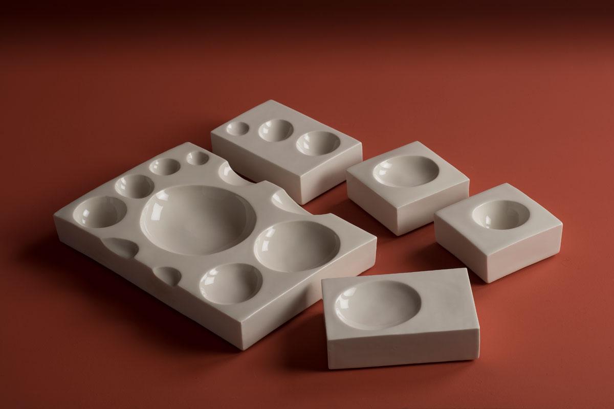 Pieza de cerámica de Nieves Jiménez