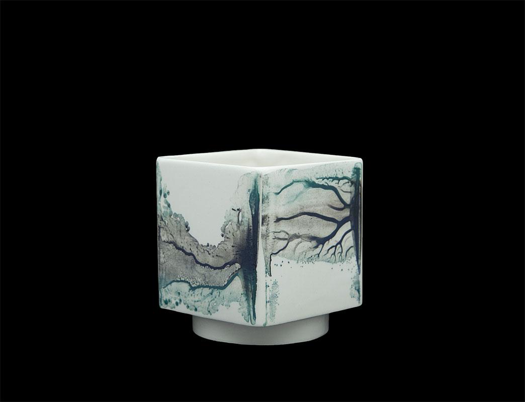 Pieza de cerámica de Raquel Sanz