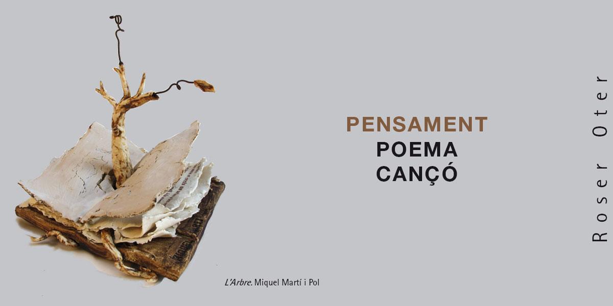 Cartel de la exposición de Roser Oter