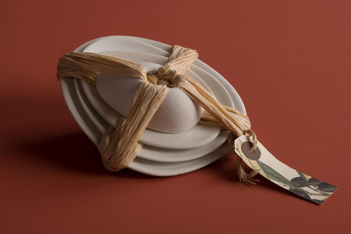 Pieza de cerámica de Sonia Ferragut
