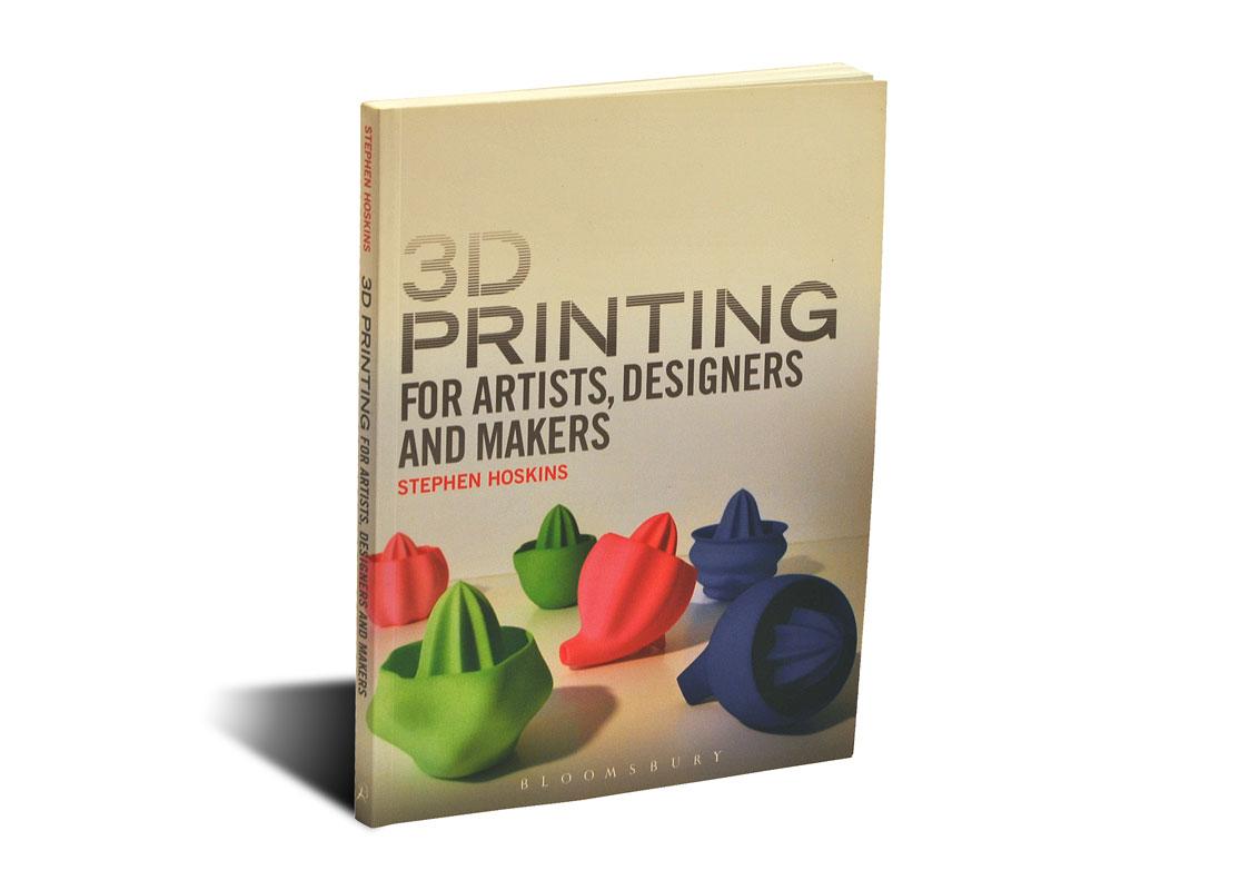 Portada del libro 3D Printing