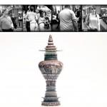 Pieza de cerámica y fotografía de Peter Olsen