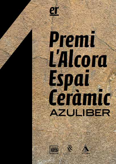 Cartel del Premio Alcora Espai Ceràmic