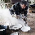 Cocción de cerámica de Jean-François Bourlard