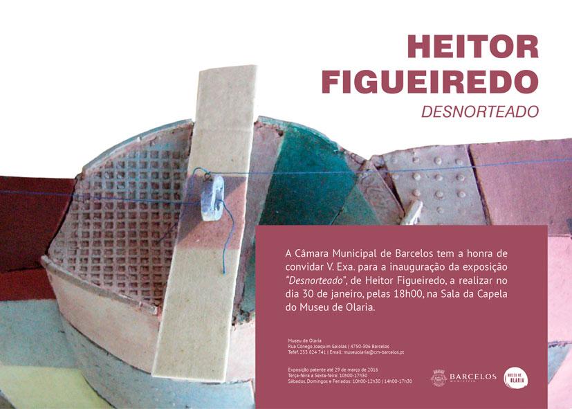 Cartel de la exposición de Heitor Figueiredo