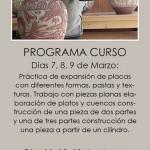 Flyer del curso de Teresa-Marta Batalla
