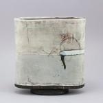 Pieza de cerámica de Sam Hall