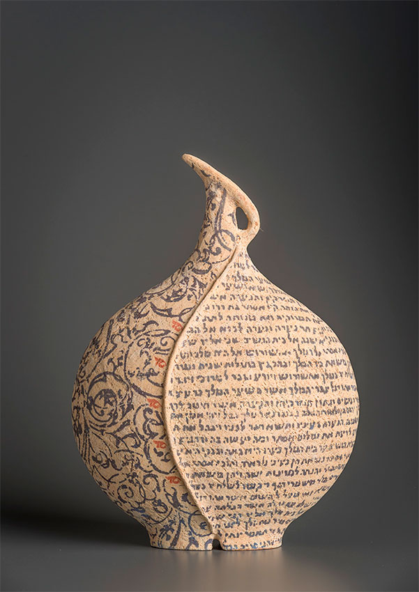 Pieza de cerámica de Avital Shieffer