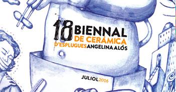 BASES DE LA bIENNAL DE cERÀMICA D'eSP`LUGUES aNGELINA aLÓS