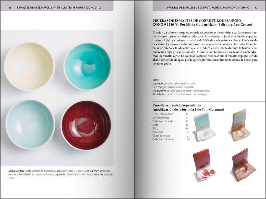 Gu a de esmaltes cer micos recetario Libros de ceramica pdf