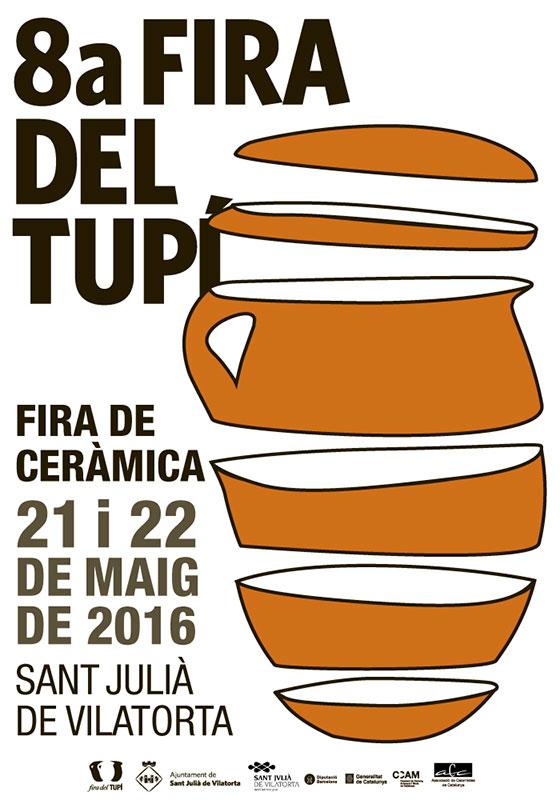 Cartel de la Feria de El Tupí 2016