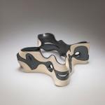 Pieza de cerámica de Gustavo Pérez