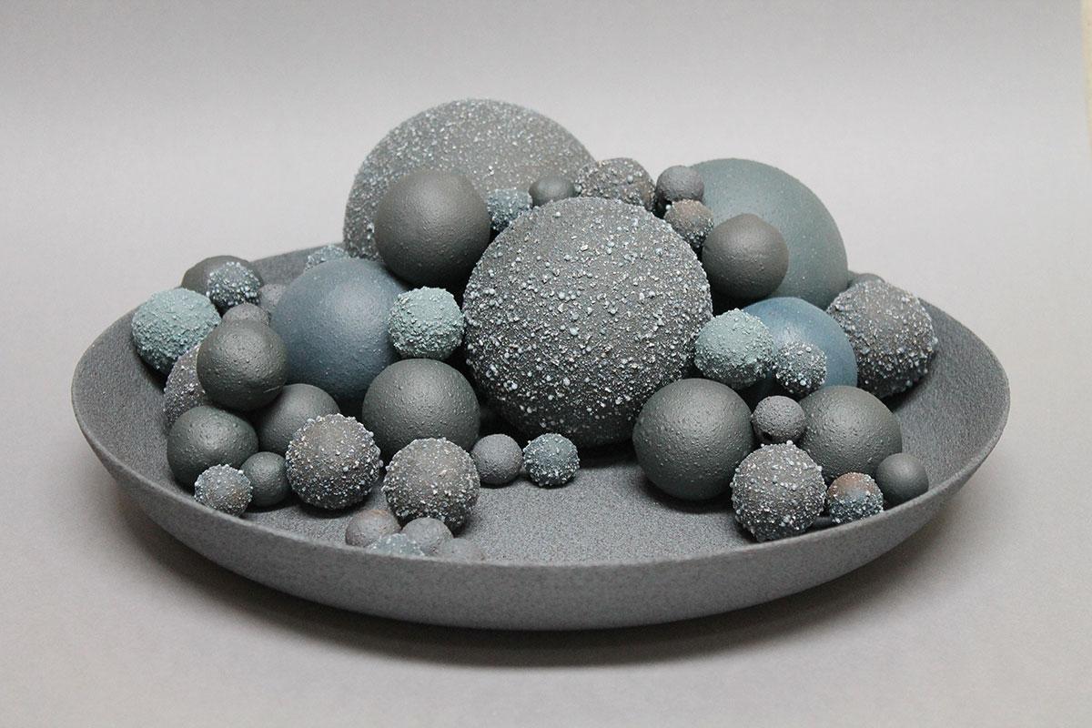 Escultura cerámica de Zelie Rouby