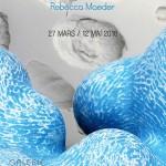 cartel de la exposición de Rebecca Maeder y Sangwoo Kim