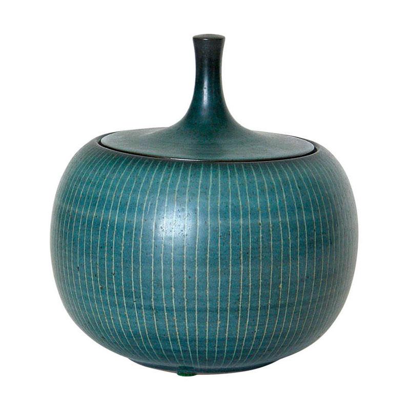 Pieza de cerámica de Harrison MacIntosh