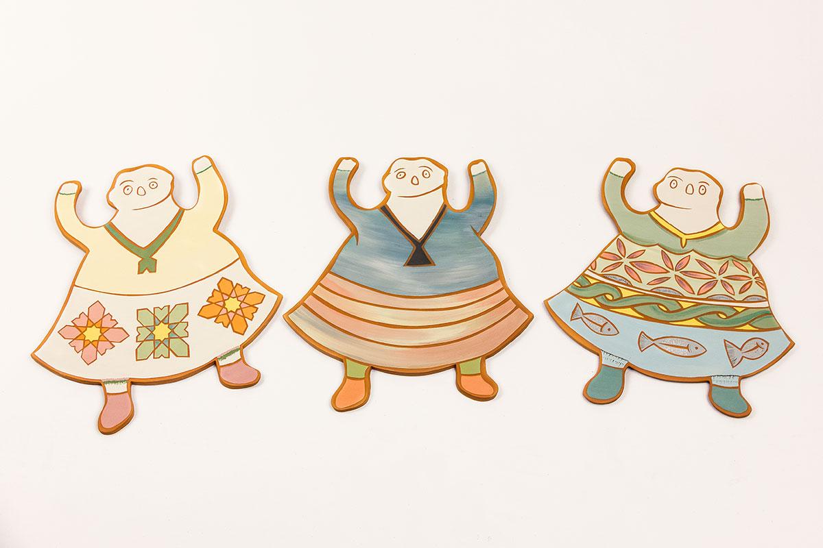 Pieza de cerámica de Souzana Petri