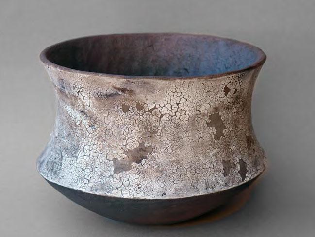 Pieza de cerámica de Ana felipe