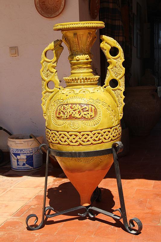 Pieza de cerámica de Alfarería Gregorio Peño