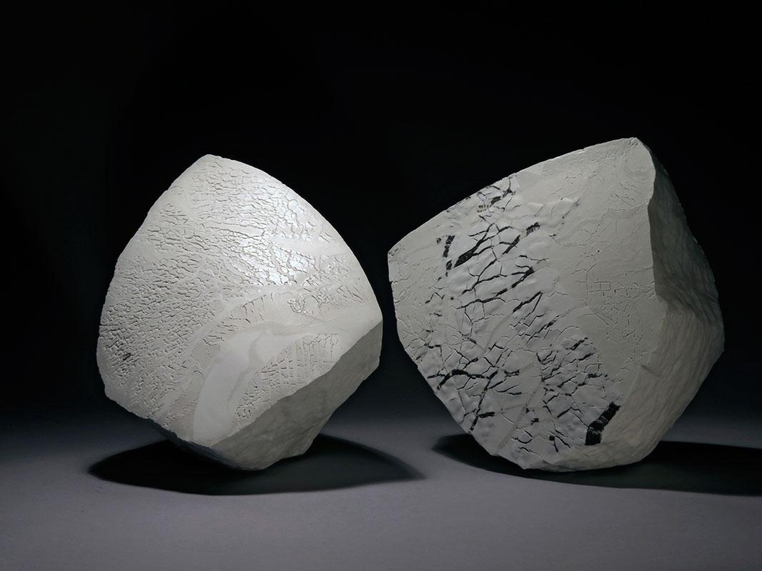 Piezas de cerámica de Violette Fassbaender