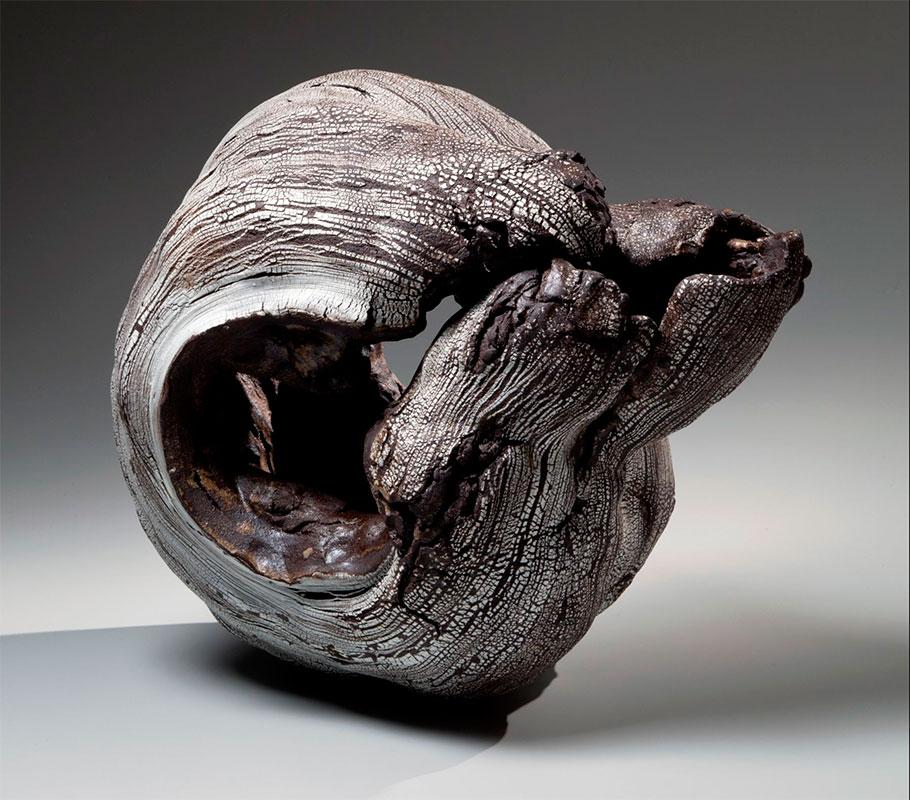 Pieza de cerámica de Futamura Yoshimi