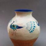 Pieza de cerámica de Jil Fanshawe Kato