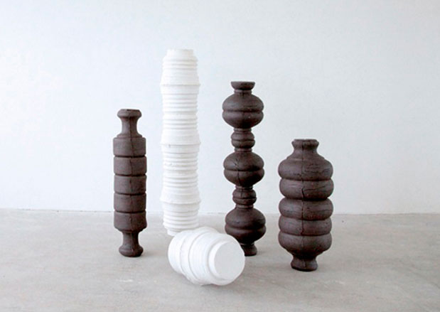 Instalación cerámica de Pablo Barreiro
