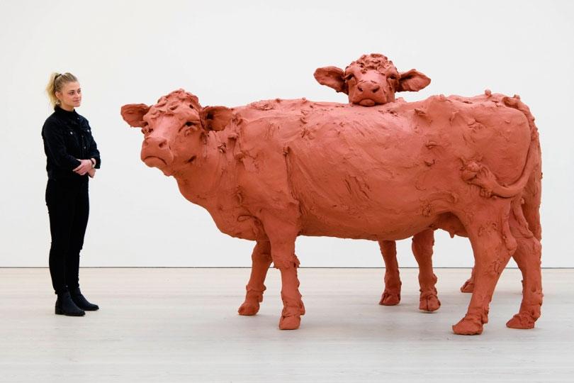 Escultura cerámica de Stephanie Quayle