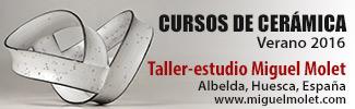Cursos cerámica verano Miguel Molet
