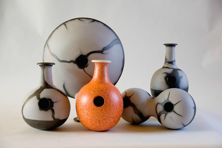 Piezas de cerámica de Samuel Bayarri