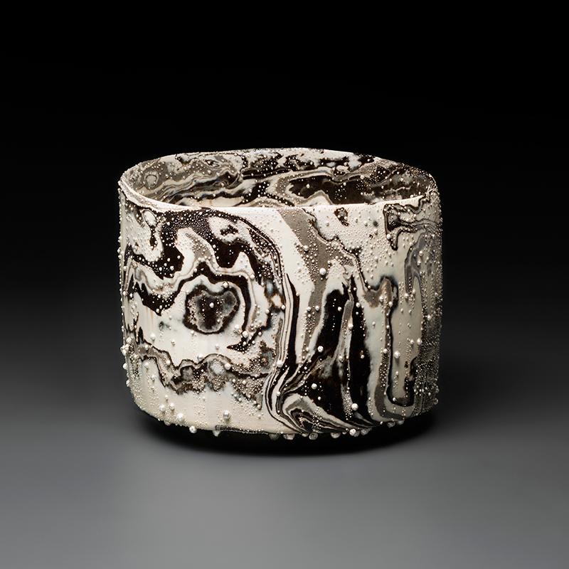 Pieza de cerámica de Kondo Takahiro