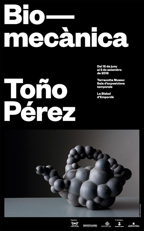 Presentación de la exposición de Toño Pérez