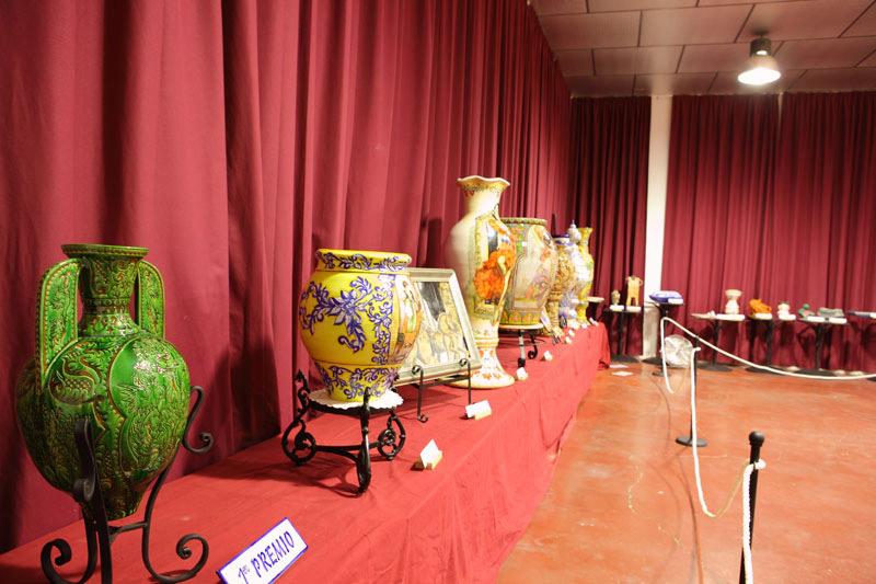 Foto de la exposición de cerámica de La Rambla