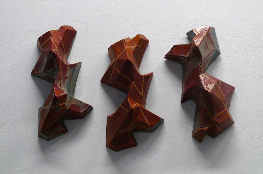 Pieza de cerámica de Aranzazu Alonso Marcos