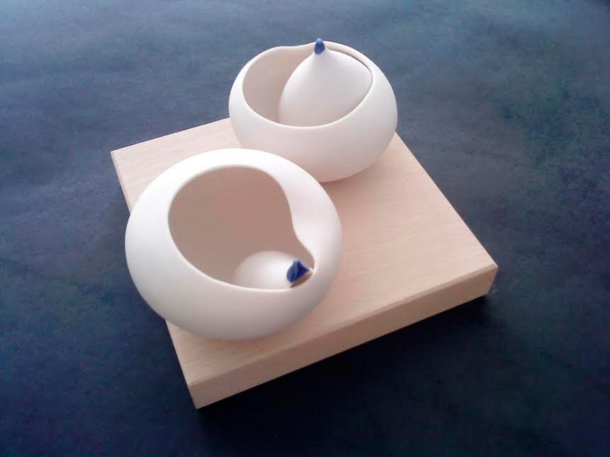 Pieza de cerámica de Eva López