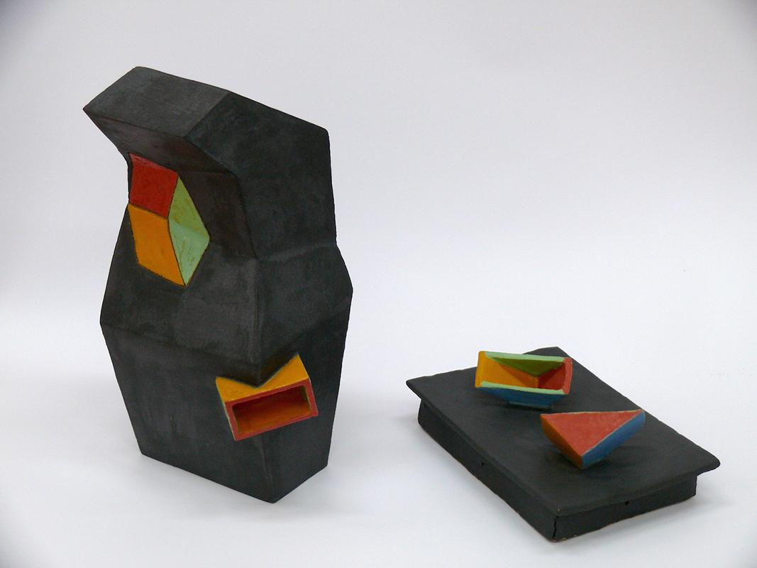 Pieza de cerámica de Leonor Borrallo Campos