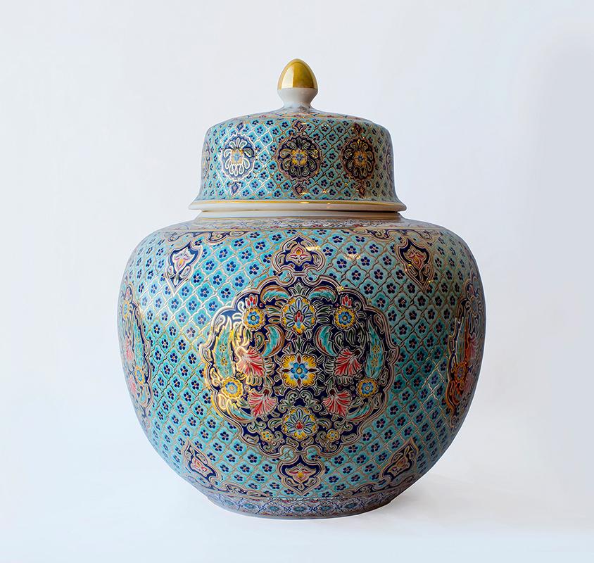 Pieza de cerámica de Mohand Belkacem Sais