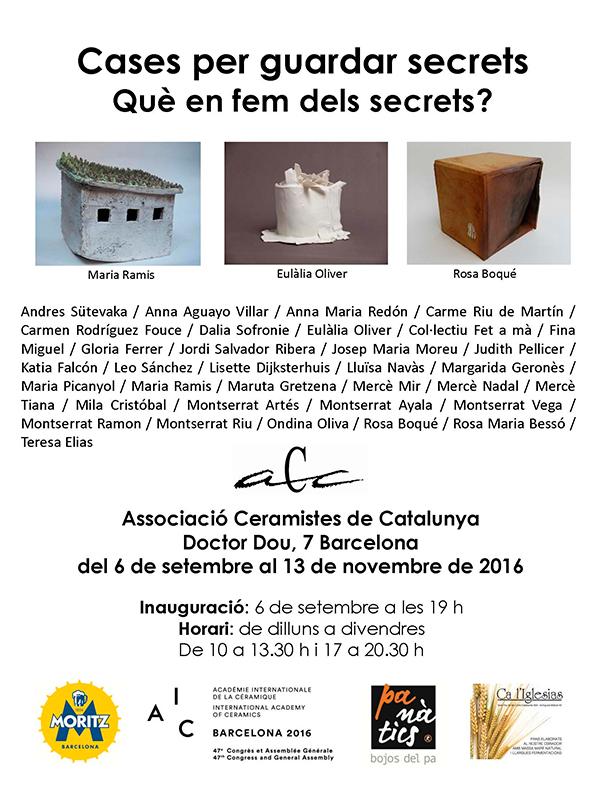 Cartel de la exposición en la ACC