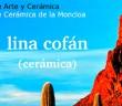 Cartel de la exposición de Lina Cofán