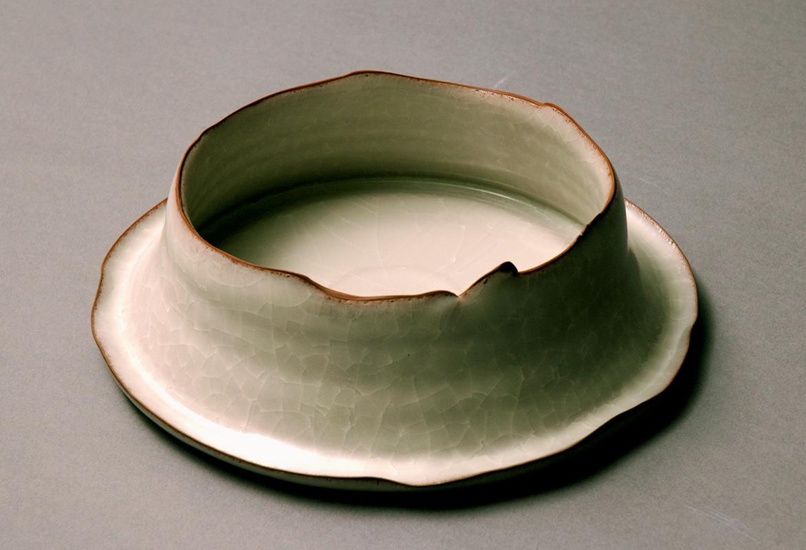 Pieza de cerámica de Takashi Yasuda