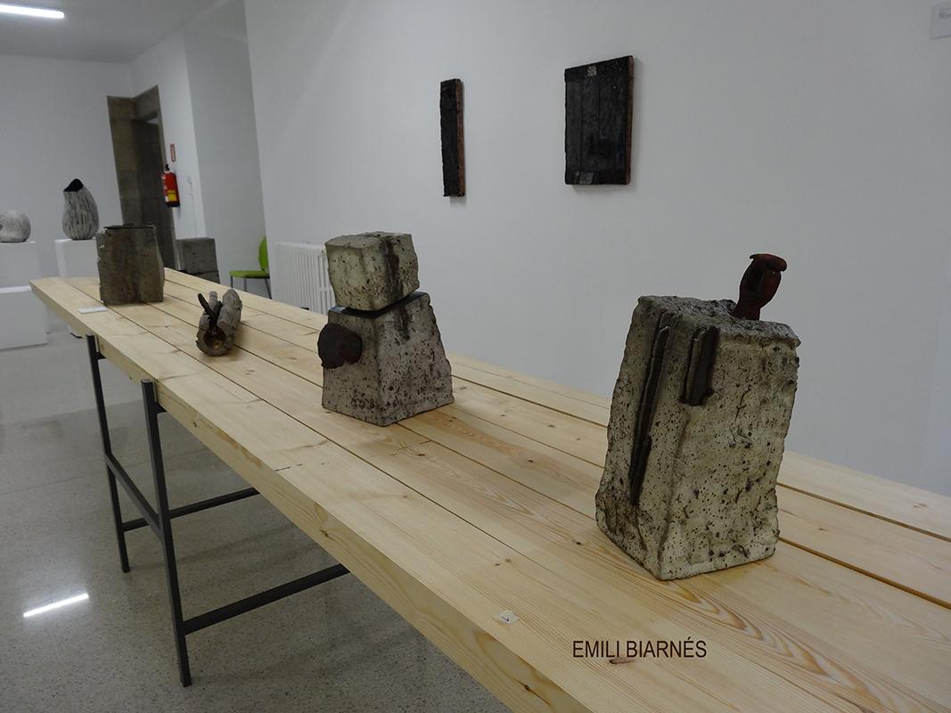 Pieza de cerámica de Emili Biarnes