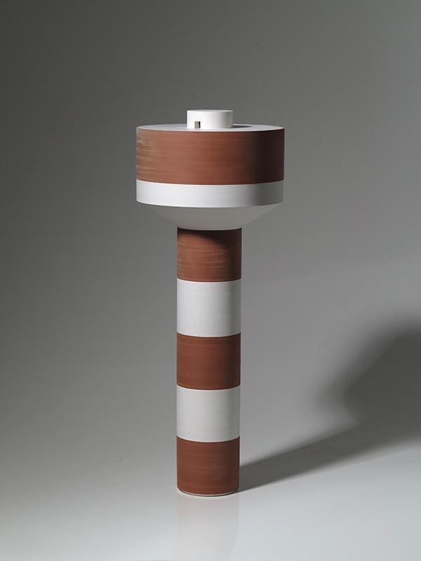 Pieza de cerámica de Juan Ortí
