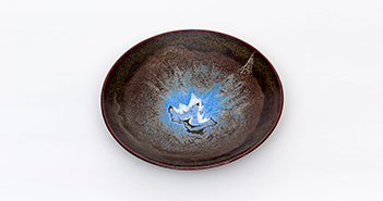 Pieza de cerámica de Manuel Fernández -Lolo-