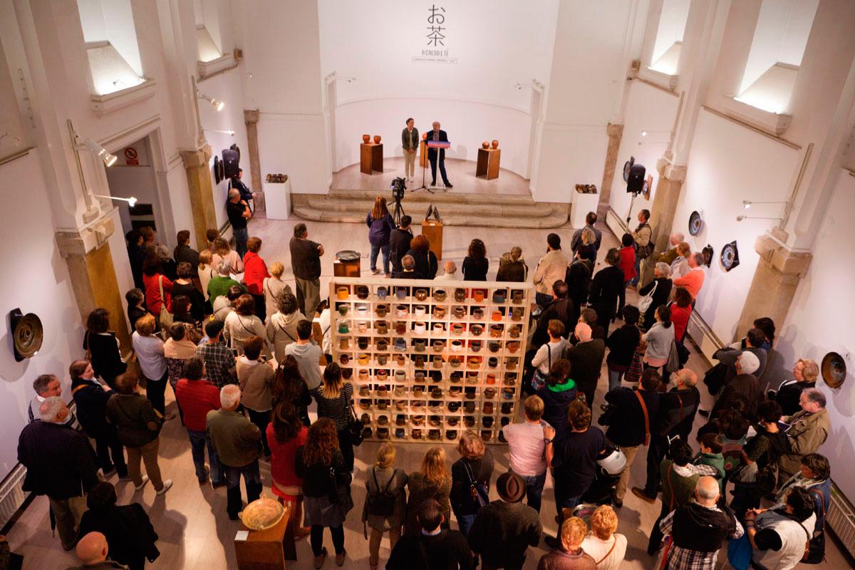 Vista de la exposición de Manuel Fernández -Lolo-