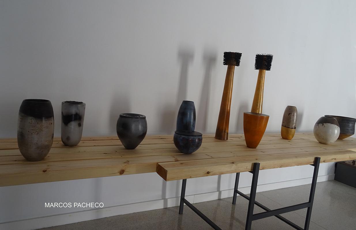Piezas de cerámica de Marcos Pacheco