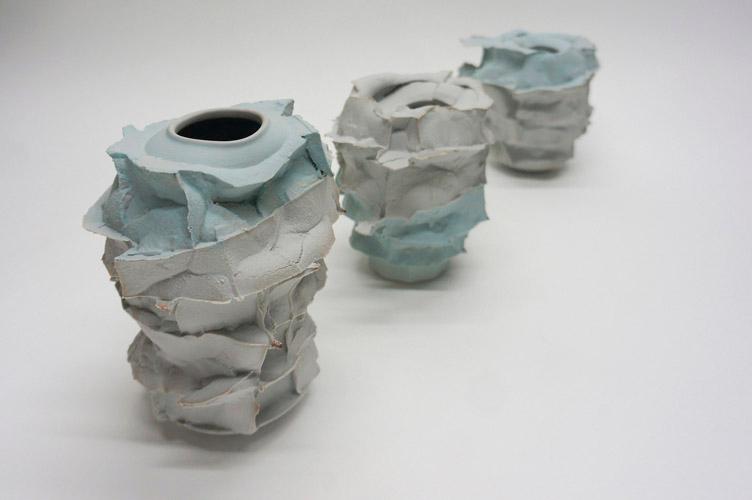 Pieza de cerámica de Monika Patuszynska