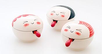 Piezas de cerámica de Isa Kiesow